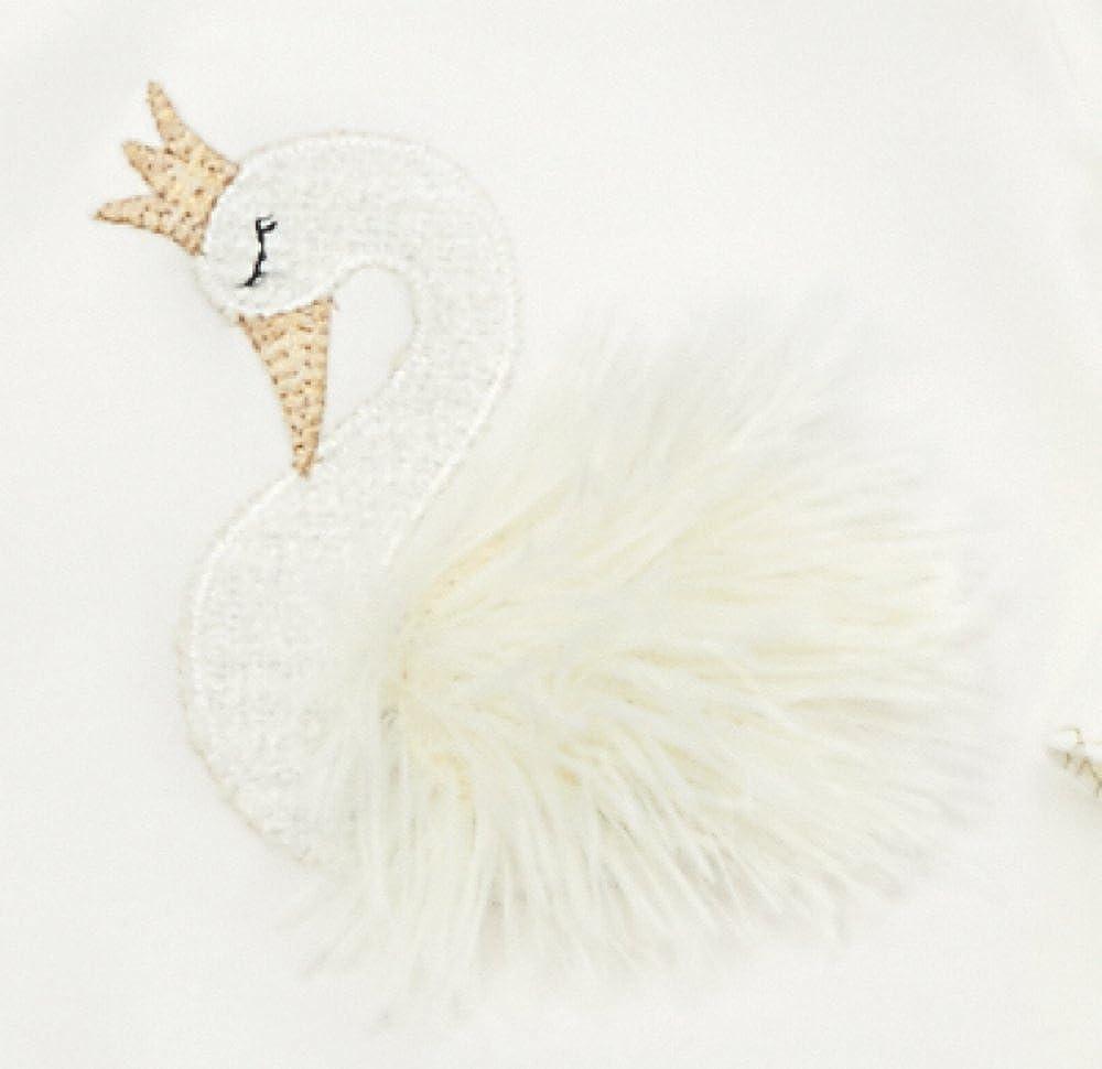 Infant Mud Pie Womens Swan Sleep Gown 11060014