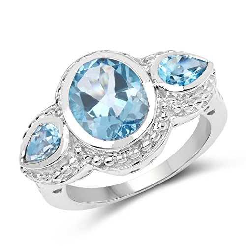 4.20 Carat Genuine Swiss Blue