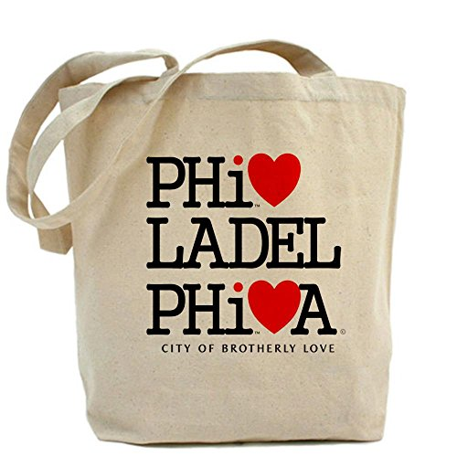 CafePress Philadelphia City of Brotherly Love Philly NY DC T Tote Bag - Standard by CafePress