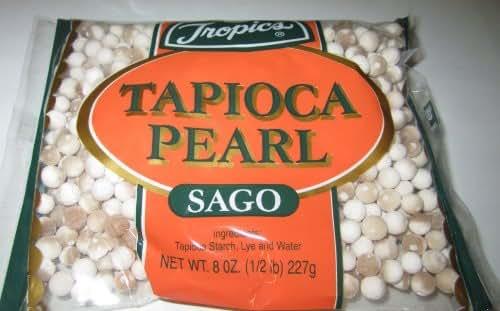 Nuts & Seeds: Tropics Tapioca Pearl Sago