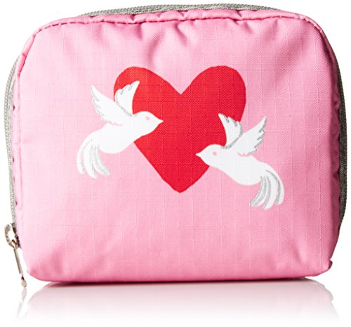 lesportsac-square-case-cosmetic-bag-love-dove-one-size