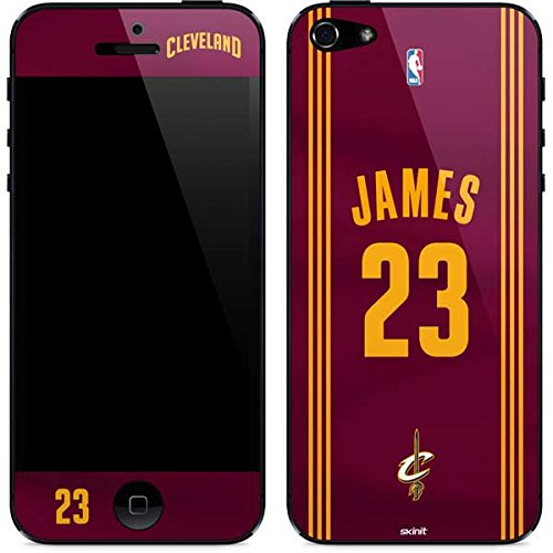 24448abb7 ... shop skinit lebron james 23 cleveland cavaliers away jersey iphone 5 5s  se skin c574a 7c485