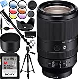 Sony FE 70-300mm F4.5-5.6 G OSS Full-frame E-Mount Lens with Sony 32GB UHS II SD Card Plus 72mm Filter Sets Bundle