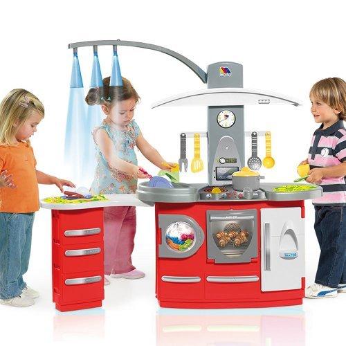 molto cocina de juguete de tamao grande con luz