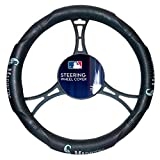 Mariners OFFICIAL Major League Baseball, Steering Wheel Cover (Made to fit 14.5-15.5 steering wheels)