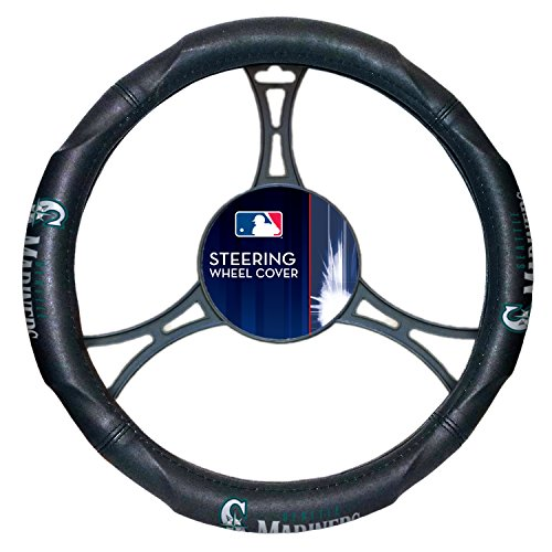 The Northwest Company MLB Seattle Mariners Steering Wheels - Mariners Bedding Seattle