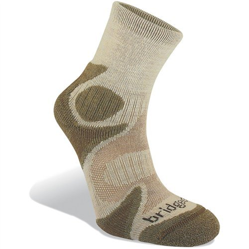 Bridgedale Men's CoolFusion Trailhead Socks, Chino/Sand,