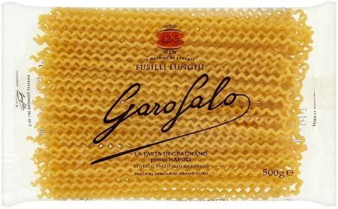Garofalo Pasta Seca Fusilli Lunghi - 500 gr: Amazon.es ...