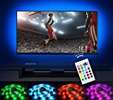 under cabinet hdtv - Bias Lighting LED TV Backlight Strip Emotionlite USB Powered Multi Color Changed RGB Tape for Flat Screen HDTV LCD 24keys Remote Controller (32