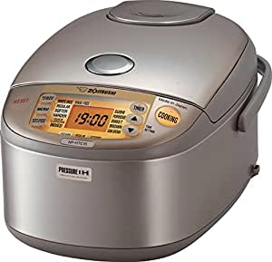 Zojirushi NP-HTC10 Induction Heating Pressure Rice Cooker and Warmer