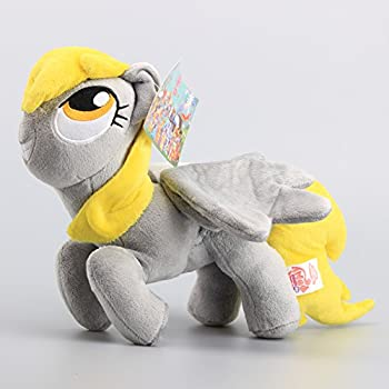 My Little Pony Derpy Hooves Gray 14 Inch Toddler Stuffed Plush Kids Toys MLP