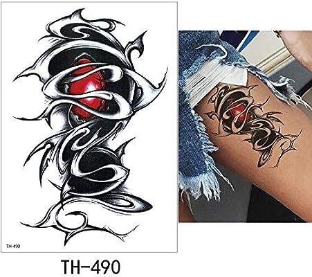 adgkitb 3pcs Tatuaje Temporal Pegatina Tatuaje Falso Monstruo ...