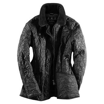 d990142db1dee Barbour New Ladies Polarquilt Jacket - Black LQU0023BK91 (L390) - 16:  Amazon.co.uk: Clothing