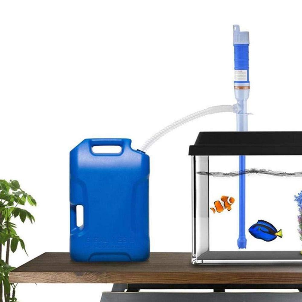 KOBWA Elektrische Handpumpe,Siphonpumpe Wasserpumpe Benzinpumpe f/ür Fl/üssigkeiten Batteriebetrieben