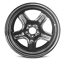 New 17x7 Chevrolet Malibu (08-12) Saturn Aura(07-10) Pontiac G6 (07-10) 5 Lug Black Steel Rim Full Size Replacement Steel Wheel