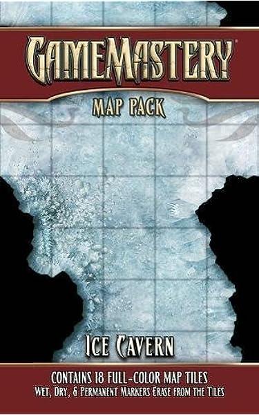 GameMastery Map Pack: Ice Cavern: Engle, Jason A., Staff, Paizo: Amazon.es: Juguetes y juegos