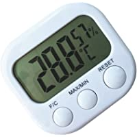 Dolity Digital LCD Display Thermometer Hydrometer Indoor Outdoor Station Home
