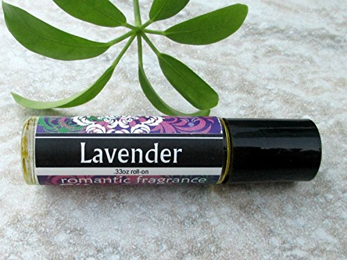 Lavender Roll On Fragrance, concentrated perfume oil, roller ball perfume oil