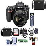 Nikon D750 FX-Format DSLR Camera with AF-S NIKKOR 24-120mm f/4G ED VR Lens - Bundle with 32GB SDHC, Cam Bag, 77mm Filter Kit, Cleaning Kit, Card Reader, Remote Shutter Trigger, Mac Software, and More