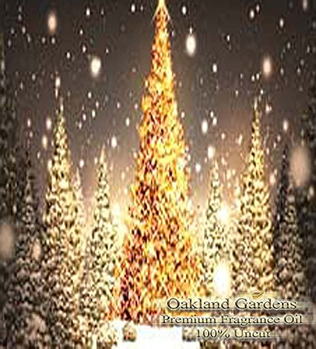 - Christmas Trees Scented Fragrance Oil - Formulated to work with Reed Sticks & Diffuser - By Oakland Gardens (Christmas Trees - 4oz Bottle)