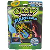 Crayola Glow Explosion Markers and Paper