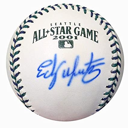 8f877bc9ad566f Edgar Martinez Signed Official 2001 All Star Baseball Seattle Mariners -  Certified Genuine Autograph By PSA