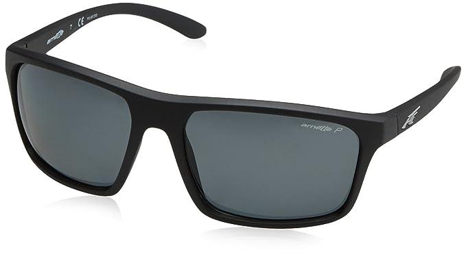 f818089e0c Arnette Men s Sandbank Polarized Square Sunglasses matte black 61.1 ...