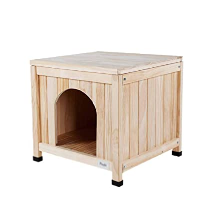 XCLLL Madera Maciza Cerca del Animal doméstico Cama para Mascotas, Adecuado para Osito de Peluche