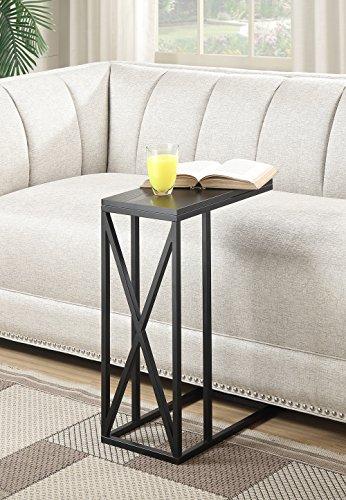(Convenience Concepts Tucson C End Table, Black)