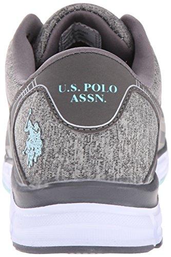 Oss Polo Assn. Womens Womens Lennie Mote Sneaker Grå Lyng Jersey / Mint