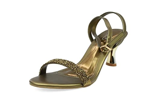 f9093f0a018037 Inc.5 Women s Ant Gold Beaded Sandals(6703) - 9 UK  Buy Online at ...
