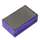Zerodis 60-400 Grit Diamond Hand Polishing Pads Hand Sanding Pad Diamond Stone Sharpener Stone Marble Glass Granite(#400)