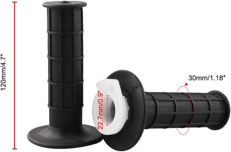 CYSKY Throttle Handle Grip Cable Throttle Twist Grip Set for 7//8 22mm Handlebar 50cc 90cc 110cc 125cc 150cc 200cc 250cc Mini Bike ATV Quad Pit Bike Dirtbike