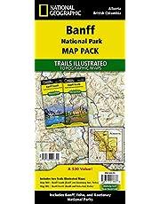 Banff National Park [Map Pack Bundle] (National Geographic Trails Illustrated Map)