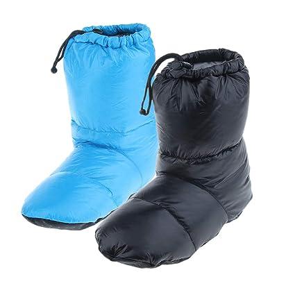 P Prettyia 2 Pares de Zapatillas de Camping Bolsa de Almacenamiento Botas Cubre Invierno