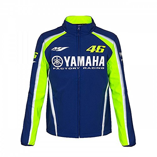 Valentino Rossi VR46 Moto GP M1 Yamaha Racing Soft Shell Jacket Official  2018 f39300db697
