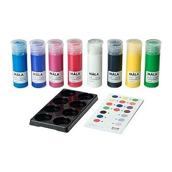 Ikea Farben.Ikea Mala Farben 8 Stück Amazon De Küche Haushalt