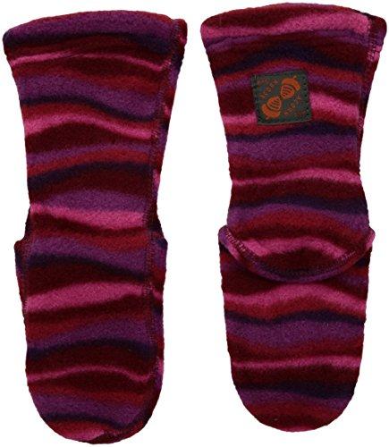 ACORN VersaFit Kids Fleece Socks - Wavy Fuchsia - X-Small