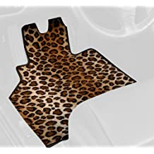 GG Bailey D3426A-F1A-LP Front Set Custom Mats for Select Freightliner M2 Models - Polypropylene Fiber (Leopard)