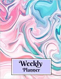 Amazon Com Weekly Planner Lovely Weekly Planner With A Fillable
