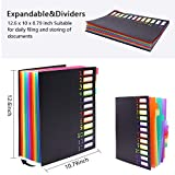 Expanding File Organizer 12 Pockets, Accordion