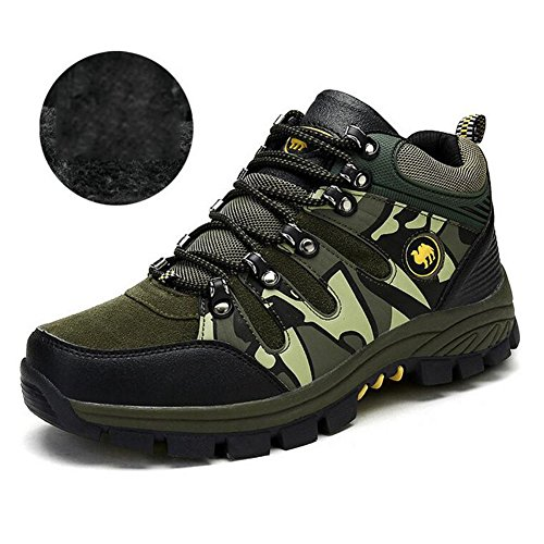 Shoes Hiking Winter Casual High Travel Outdoor Shoes Top Shoes Shoes D Men's Slip Trainers Trekking Fall Sneakers Non Climbing Mountain Camo Shoes WAEnqXwI