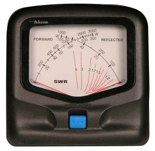 MFJ-822 SWR Meter, 1.8-200Hz, 30/300W by MFJ