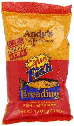 Andy's Cajun Fish Breading, 10 oz (Cajun Fish)