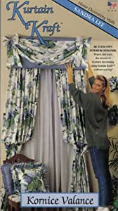 Kurtain Kraft ~ Kornice Valance (Home Decorating with Sandra Lee)
