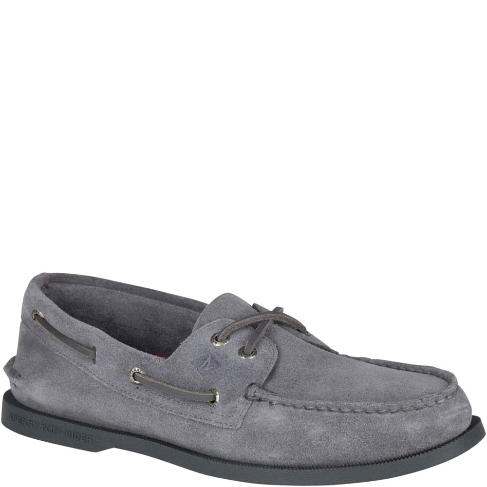 45d42583b17ce Sperry Top-Sider Sperry Authentic Original Suede Boat Shoe Men 11.5 Grey
