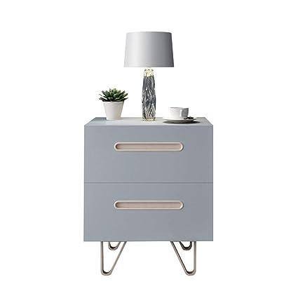 Amazon.com: Bedside table Dressers Solid Wood Fashion ...