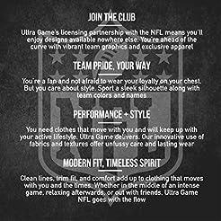 NFL Ultra Game Men's Full Zip Fleece Hoo...