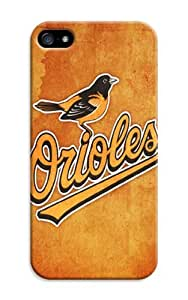 D-PINK(TM)Beautiful Baseball iPhone 6 Plus Case-Baltimore Orioles MLB Hard Case Cover Skin for iPhone 6 Plus