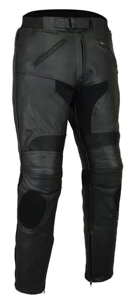Pantalones de Piel extraí bles para Motociclistas de Bikers Gear, Talla 54S 5XL Australian Bikers Gear LT1005-44S
